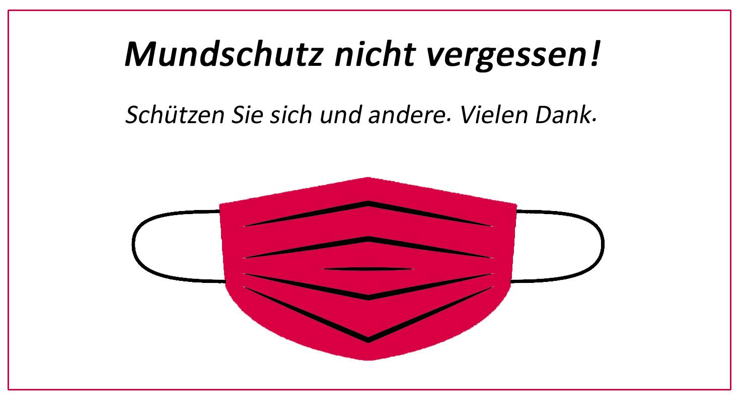 Metzgerei Zwiesler - Bitte Mundschutz tragen.